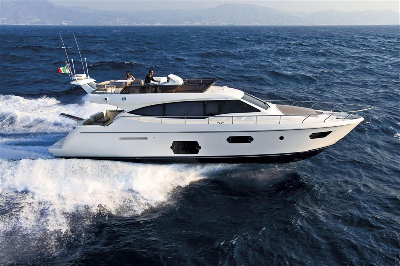 used ferretti 570 yacht for sale