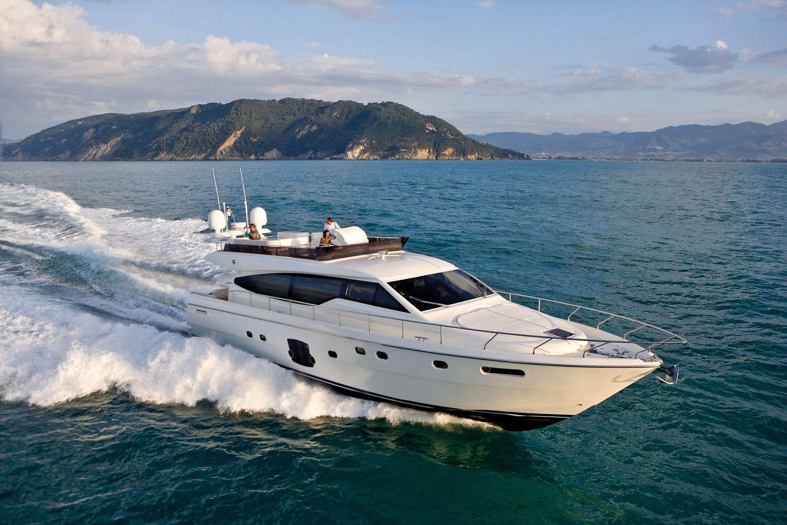 used Ferretti 660 yacht for sale