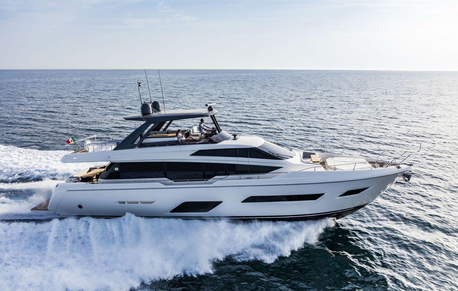 used Ferretti 780 yacht for sale