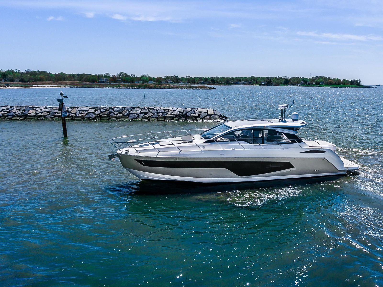 used azimut 51 Atlantis yacht for sale