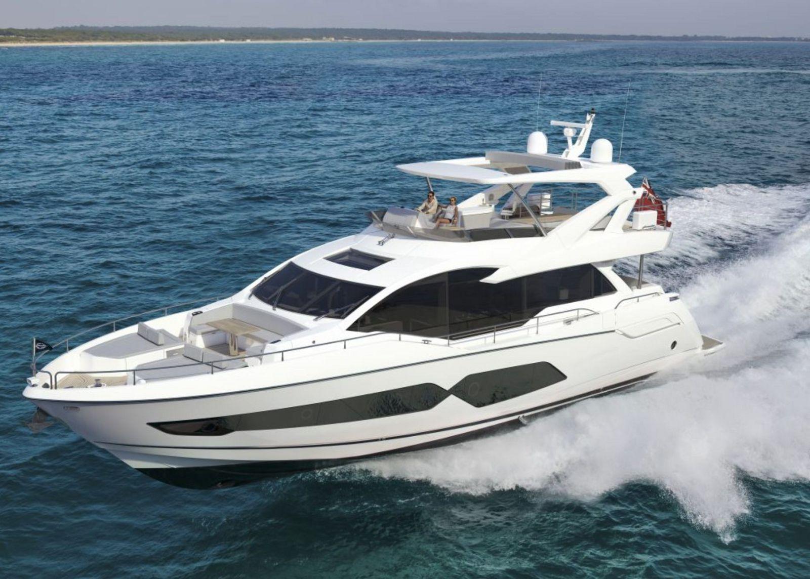 used Sunseeker 76 motor yacht for sale