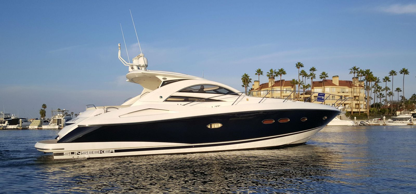 used Sunseeker 53 Portofino yacht for sale