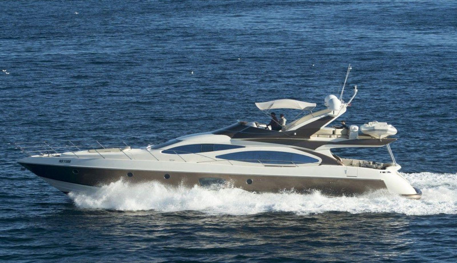 azimut 71 flybridge yacht for sale