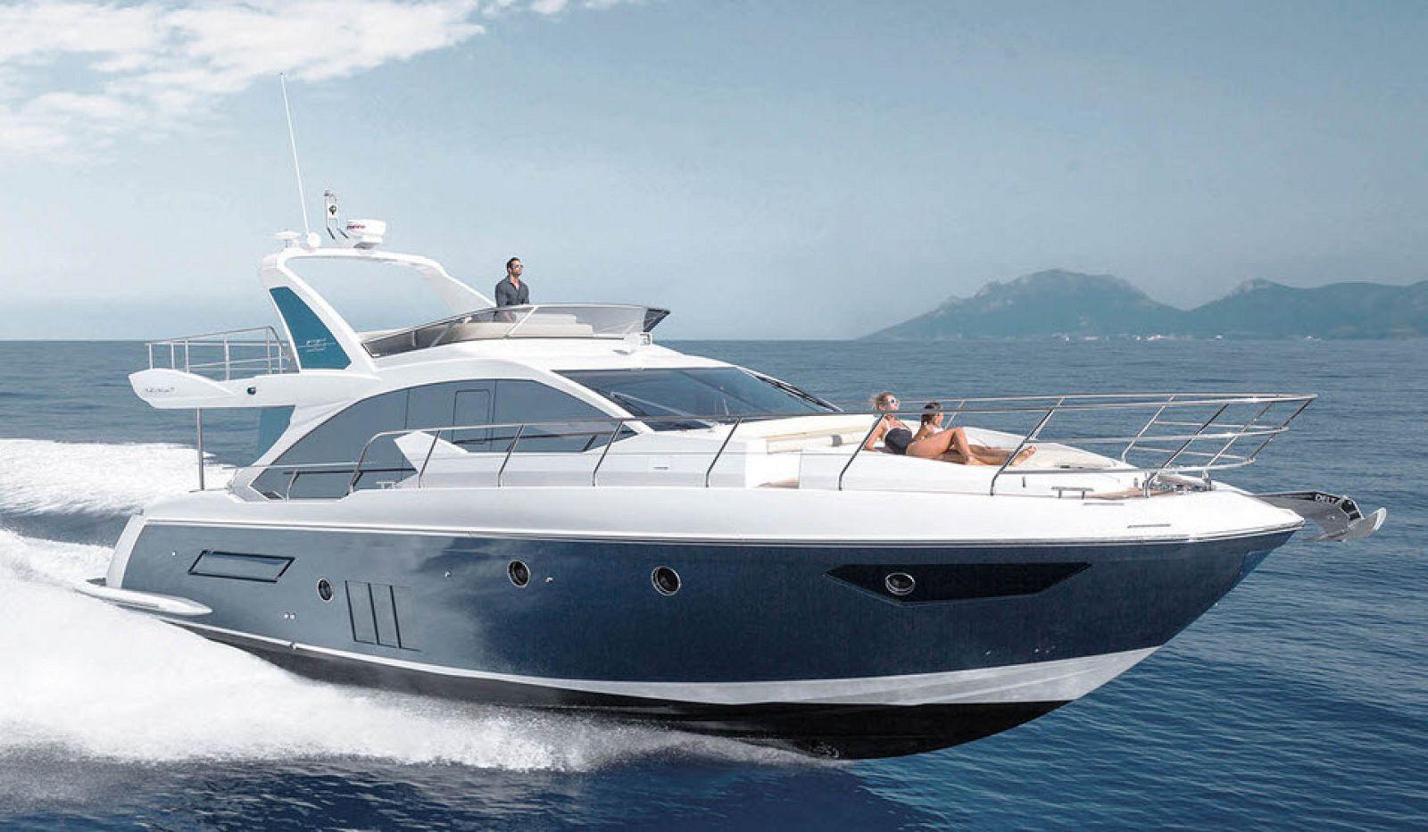 azimut 56 flybridge yacht for sale