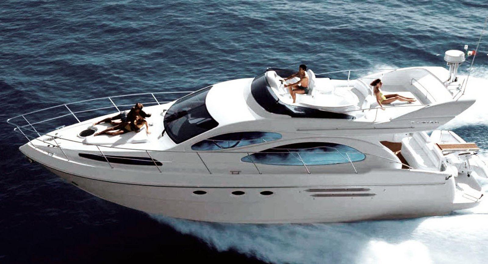 azimut 46 flybridge yacht for sale
