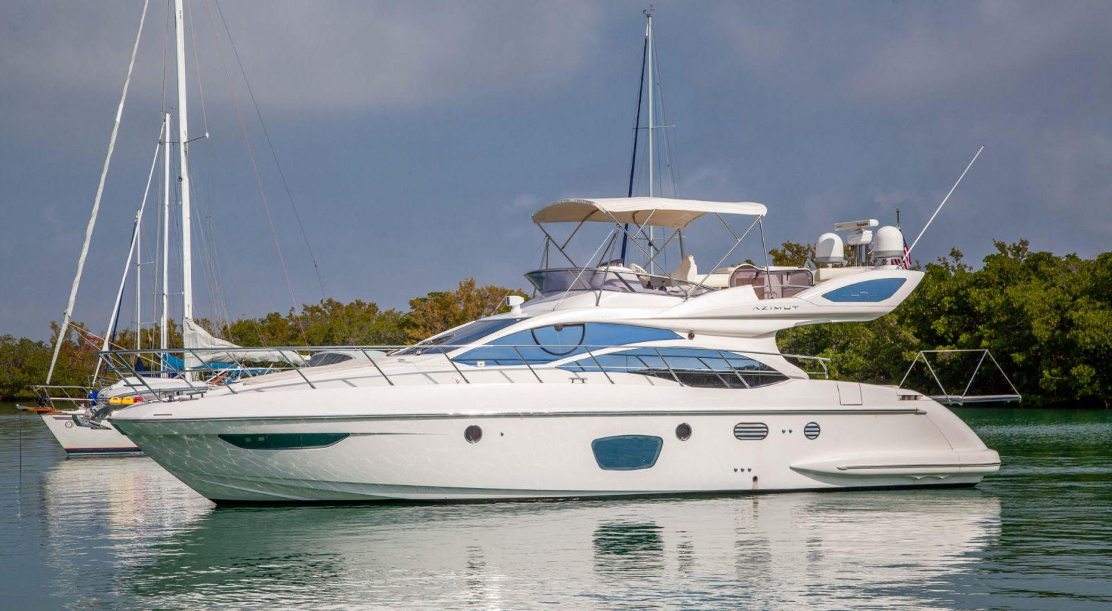 azimut 47 flybridge yacht for sale