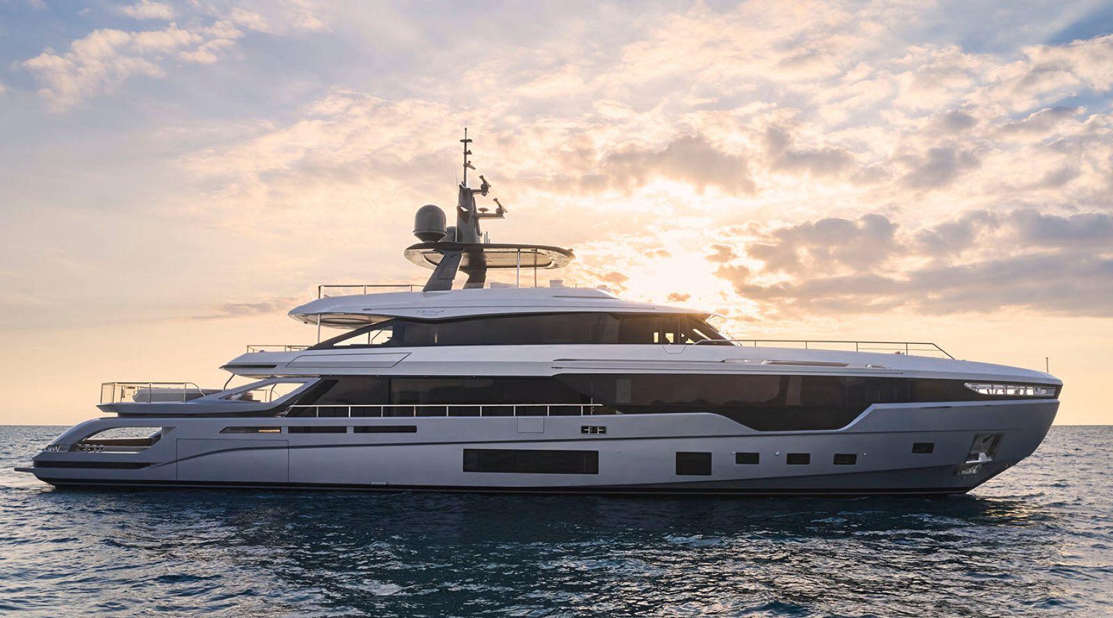 azimut grande tri deck yacht for sale