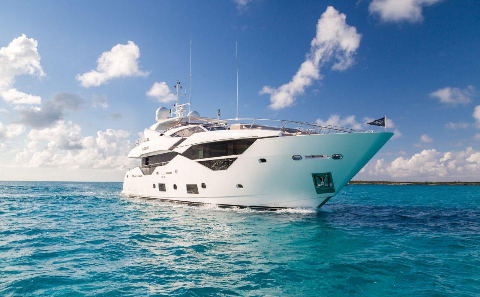 used sunseeker 116 motor yacht