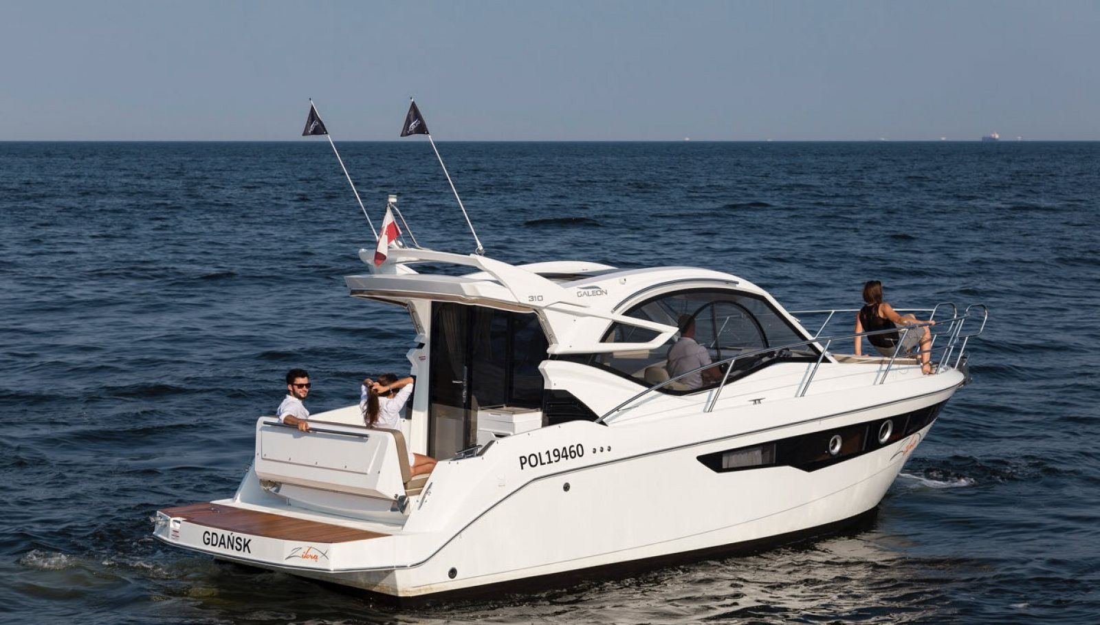 galeon 310 htc yacht