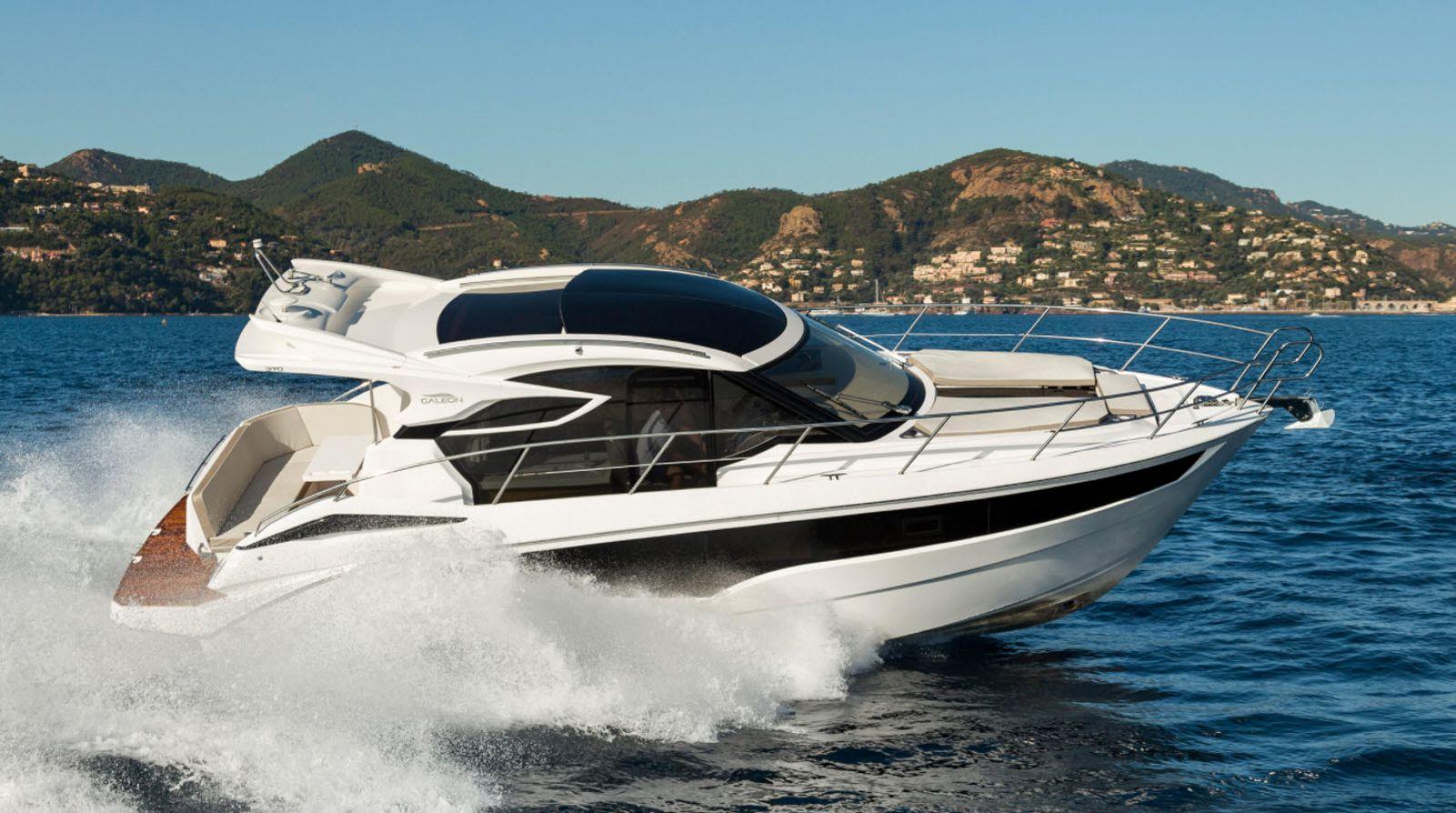 galeon 370 htc yacht