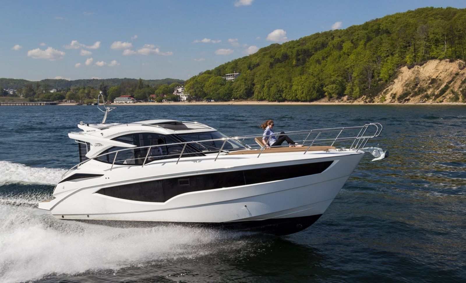 galeon 365 hts yacht for sale