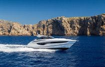 Princess Yachts V40 Starboard Side Shot