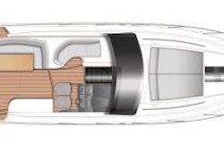 Princess Yachts V40 Layout 1