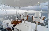 Flybridge seating - Viking 54C
