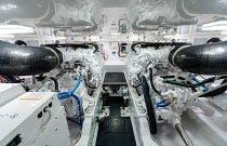 Engine Room - Viking 54 Convertible