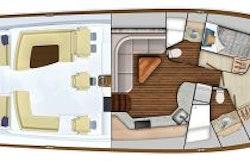 Viking 54SC 2 Cabin Layout