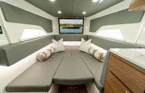 Valhalla V46 cabin with cushion
