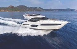 Princess Yachts F50 With mountains in back