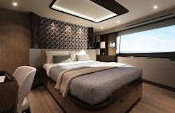 master cabin with bed