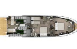 Lower Deck Layout - Absolute 60