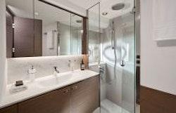 fourth guest cabin bathroom