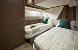 fourth guest cabin twin beds apart
