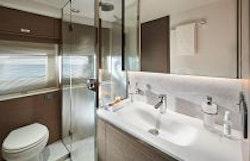 Guest bathroom sink