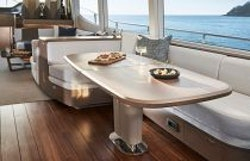 dining table with no stools