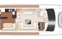 Main Deck Layout - Princess Y72