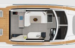 main deck layout - 48 coupe